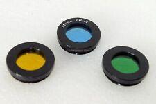 "1.25"" basic 3 piece colour and Moon filter set . UK stock UK seller"