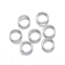 2000x Stainless Steel Jump Ring Close Unsoldered 3mm Choker Necklaces Bracelet