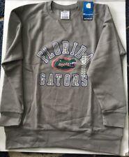NWT Mens Champion Custom Fan Florida Gators Pullover Sweatshirt Gray XXL