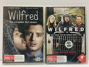 WILFRED Season 1 & 2 Complete 4 Discs Region 4 Australian Series