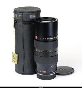 Lens Leica Vario Elmar R 4/80-200mm E60 ROM 11277 For Leica R Mint