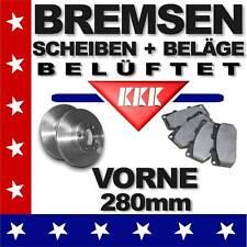 09 Bremsen vorne Bremsscheiben+Bremsbeläge AUDI A3 (8L1) 1,6 1,8 1,9 TDI Diesel
