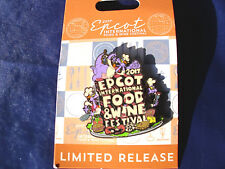 Disney * FIGMENT * EPCOT Food & Wine 2017 * New Limited Release Trading Pin