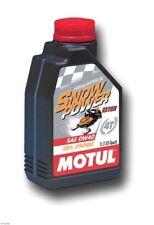 Motul Snowpower 4T Snowmobile Oil (0w40 EASY START) - Liter