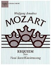 Requiem K626 Vocal score - Mozart