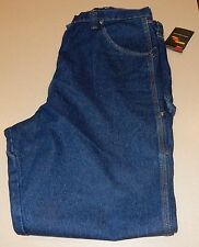 New Wrangler Men's RIGGS Workwear Work Carpenter Jeans Relaxed Fit 42 X 36