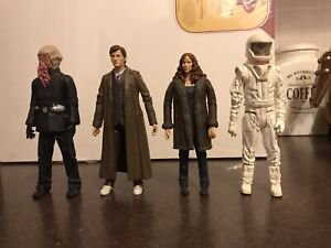 4 x DOCTOR WHO FIGURES - Ood , Vashta Nerada , Donna Noble & 10th Doctor!