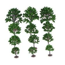 Model Railway Trains N Z Tt Scale Accessories Scenery Trees 4-10cm Height