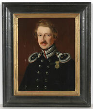 "J. Richter ""Conrad Marius Josias Bruhn, Prussian""Ober-Auditeur"""",Oil/Canvas,1849"