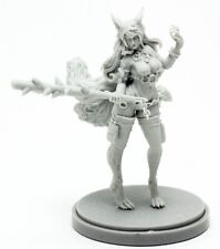30mm Resin Kingdom Death Ringtail Vixen Unpainted WH306