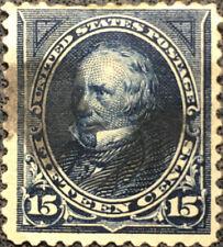 Scott #274 US 1895 15 Cent Clay Bureau Postage Stamp VF LH