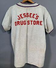 1940's Antique Drug Store Advertising Rawlings Old Baseball Uniform Pants Shirt