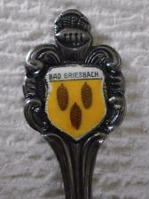 Nice Silverplate Souvenir Spoon Bad Griesbach Germany Antiko 100