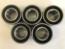 10 pcs 6206 2RS double rubber sealed ball bearing, 30x 62x 16 mm