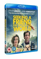 Blu Ray SEEKING A FRIEND FOR THE END OF THE WORLD. New sealed with slip cover.