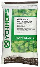 German Hallertau Hop Pellets - 1 lb in Light Resistant Nitrogen Flushed Package