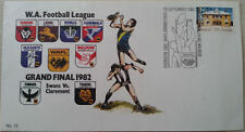 WAFL1982 GRAND FINAL POST OFFICE STAMPED ENVELOPE FREE SHIPPING new price