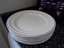 ROYAL DOULTON HOTEL PORCELAIN LARGE DINNER PLATES X 7
