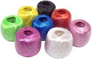 Polypropylene Twine,Household Bundled Decorative Wear-Resistant Plastic Rope 20m