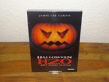 Halloween H20 Blu-Ray+DVD Mediabook - Cover A (Jamie Lee Curtis) NEU&OVP
