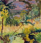 Pierre Bonnard View Of The River Vernon Poster Reproduction Giclee Canvas Print