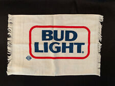 "Vintage Bud Light Beer Golf Towel 17� x 11"" - Brand New"