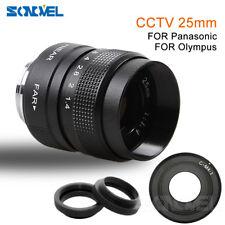 25mm F1.4 CCTV Lens + C-M4/3 Adapter for Panasonic GF5 GF6 G3 G5 GH2 GH3 GH1 GF3