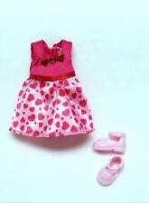 Kelly Chelsea Small Doll Clothes *VHTF Mattel Yellow//Red Panty /& Bralette Set*