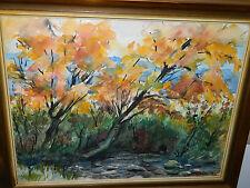 ART TABLEAU aquarelle ALSACE signé GEORGES FORLEN wattwiller LIGSDORF