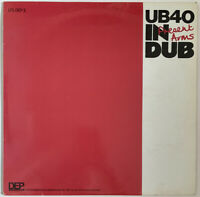 UB40 PRESENT ARMS IN DUB LP DEP INTERNATIONAL UK 1981 PRO CLEANED