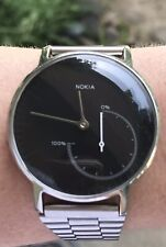 Nokia Withings Steel Activate Activity Tracking Bluetooth Watch Water Resistant