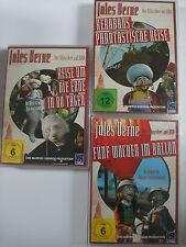 Jules Verne Sammlung Kerabans Reise - Fünf Wochen im Ballon - Um die Welt in 80