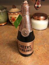 NWT Kate Spade Champagne bottle wristlet Celebration Cheers Darling, cork