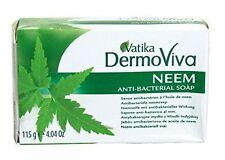 Dabur Vatika DermoViva Anti-bacterial Soap With Neem 115 G