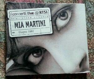 MIA MARTINI I CONCERTI LIVE RTSI CD