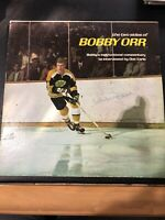 """Bobby Orr SIGNED Record, 1970 """"The Two Sides Of Bobby Orr"""""""