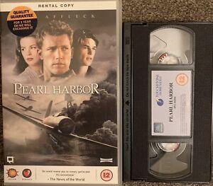 PEARL HARBOR:BEN AFFLECK-VHS VIDEO BIG BOX EX RENTAL.
