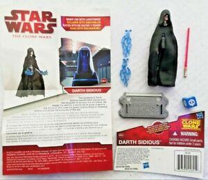 Hasbro Star Wars DARTH SIDIOUS CW45 THE CLONE WARS Action Figure New