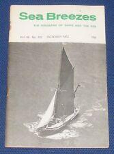 SEA BREEZES OCTOBER 1972 VOLUME 46 NUMBER 322 - SIR EUSTACE TENNYSON D'EYNCOURT