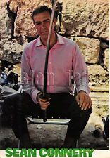 1966, Sean Connery & YOU ONLY LIVE TWICE MIE HAMA Japan Vintage Clippings 3sc11