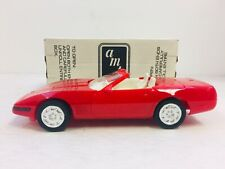 AMT ERTL 1992 CHEVROLET CORVETTE CONVERTIBLE SPECIAL EDITION #6666 with box #894