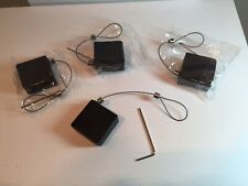 Mini Retractor Merchandise Display Theft Prevention Lot Of ( 4 ) 3 Foot Cable