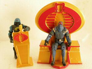 Gi joe cobra 3d printed for cobra commander destro Throne &  Podium