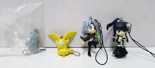 D.Gray-man Mascot Strap Mascot Collection Figure 4 set Capsule Toy Gacha Anime