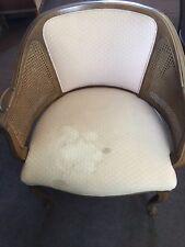 vintage cane chair