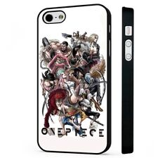 One Piece Anime Manga Collage BLACK PHONE CASE COVER fits iPHONE