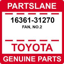 16361-31270 Toyota OEM Genuine FAN, NO.2
