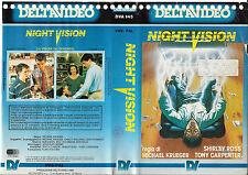 NIGHT VISION (1987) vhs ex noleggio