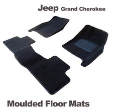 To suit Jeep Grand Cherokee WK 2011 - onw. 3D MOULDED CARPET Car Floor Mats