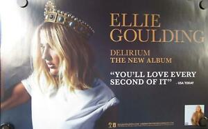 "Ellie Goulding - Delirium Mint- Poster 14""x22"" 2015 double-sided"